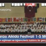 Vorführung auf dem 3. internationalen Aikido Festival in Ankara