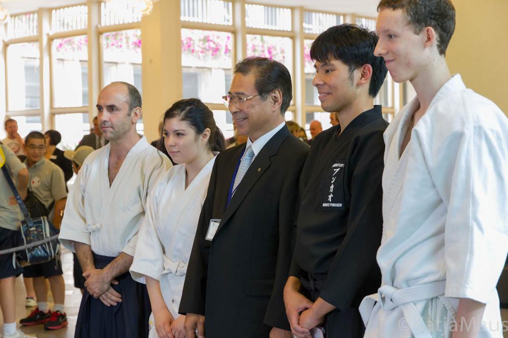 Aikido für Kinder aus Fukushima